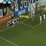 Santos [1]-1 Fluminense - Jean Mota 87'