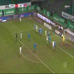 Greuther Furth [1]-1 Holstein Kiel - Havard Kallevik Nielsen 27'