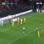 Guingamp 0-1 Caen - Prince Oniangue 26'