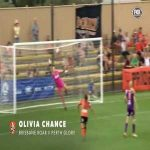 [W-League] Great goal by Olivia Chance for Brisbane Roar