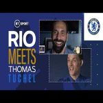 "Rio Ferdinand interview with Thomas Tuchel: ""If you have the same impact on my CL results like last time, I will switch to Owen Hargreaves because he had a positive impact, if it gets crazy again you're out."" 