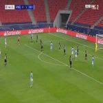 Monchengladbach 0-2 Manchester City - Gabriel Jesus 65'