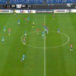 Napoli 1-0 Granada [1-2 on agg.] - Piotr Zielinski 3'