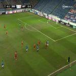 Rangers [2]-1 Antwerp: Nathan Patterson 46'