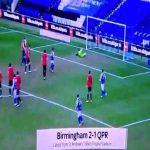 Birmingham City [2] - 1 QPR - Alen Halilović 85'