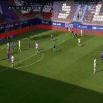 Eibar 0-1 Huesca - Sandro Ramírez 81'