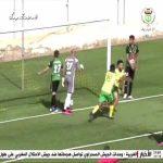 Great Rabona assist in the Algerian league by JS Saoura's Abdelaziz Lahmeri against US Biskra