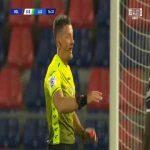 Łukasz Skorupski (Bologna) PK save vs. Lazio (17')