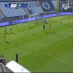 Spezia 0-2 Parma - Hernani 25'