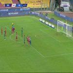 Roma 0-1 Milan - Franck Kessie penalty 42'
