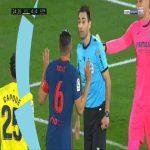 Villarreal 0-1 Atlético Madrid - Alfonso Pedraza OG 25'