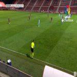 Mirandes 1-0 Malaga - Daniel Vivian 75'