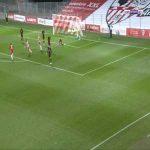 AC Ajaccio 1-0 Rodez - Tony Njike 90'