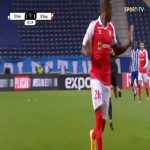 Cristian Borja (Braga) straight red card against FC Porto 34'