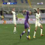 Fiorentina [1]-1 Roma - Leonardo Spinazzola OG 60'