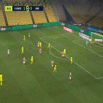 Nantes 1-[1] Reims - Ghislain Konan 40'