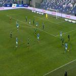 Sassuolo 1-[1] Napoli - Piotr Zielinski 38'