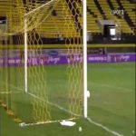 Aris 1-[1] Olympiacos Piraeus [2-3 on agg.] - Andreas Bouchalakis 87'