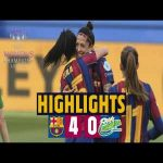 Highlights | Barcelona Femení 4–0 Fortuna Hørring | Hat-trick from Jennifer Hermoso and a fourth from Alexia put the team well on course for a place in the last eight of the Women's Champions League