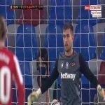 Levante 1-[1] Athletic Bilbao [2-2 on agg.] - Raul Garcia penalty 30'
