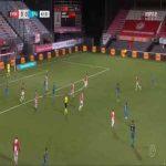 FC Emmen 0-1 Sparta Rotterdam - Laros Duarte 43'