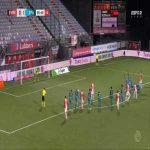 FC Emmen [1]-1 Sparta Rotterdam - Michael de Leeuw penalty 90'+6'