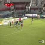 Odra Opole 0-1 Stomil Olsztyn - Jurich Carolina 13' direct corner kick (Polish I liga)