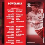 [Official] Poland squad for games with Hungary, Andorra and England