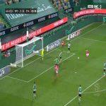 Sporting 1-[1] Santa - Rui Costa 84'