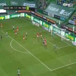 Sporting [2]-1 Santa - Sebastian Coates 90'+4'