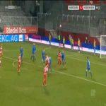 Wurzburger Kickers [1]-2 Heidenheim - David Kopacz 67'