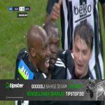 Besiktas 1 - 0 Gaziantep - Vincent Aboubakar 15'