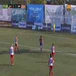 Nice goal by Patri Guijarro for Barcelona Femení