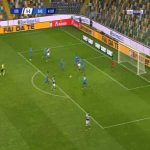 Udinese 1-0 Sassuolo - Fernando Llorente 42'
