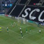 Angers 1-0 Club Franciscain - Angelo Fulgini 31'