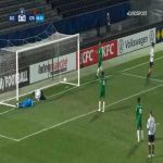 Angers 5-0 Club Franciscain - Noah Fatar 87'