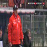 Braunschweig 1-0 Sandhausen - Felix Kroos free-kick 90'+1'