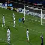 Canet Roussillon 1-0 Marseille - Jeremy Posteraro free-kick 21'