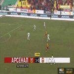 Arsenal Tula 2-0 CSKA Moscow - Aleksandr Lomovitskiy 45'