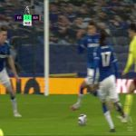Everton - Burnley: Possible handball in the penalty box from Ben Godfrey