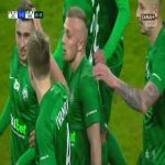 Legia Warszawa 1-[1] Warta Poznań - Jan Grzesik 26' great goal (Polish Ekstraklasa)