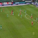 Werder Bremen 0 - [2] Bayern Munich - Serge Gnabry 35'