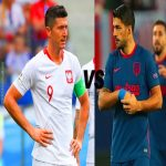 Who is the best striker no 9 of this generation Luis Surez v Robert Lewandowski