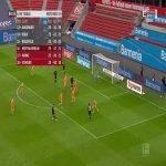 Bayer Leverkusen [1]-2 Arminia Bielefeld - Patrik Schick 85'
