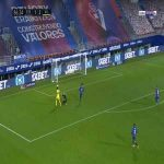 Eibar 1-[3] Villarreal - Alfonso Pedraza 87'