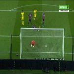 Lapse of concentration by Kylian Mbappé vs FC Nantes