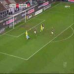 St. Pauli 0-1 Paderborn - James Alexander Lawrence OG 7'