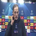 """Tuchel: """"We needed a complete performance, we were against leaders in Spain with a full squad. We missed some big personalities. Haven't seen the red card incident back but it helped us a lot, we were under pressure and after the red card it was easier to escape the pressure."""" 