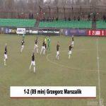 Garbarnia Kraków [1]-2 KKS Kalisz - Grzegorz Marszalik FK 89' (17.03.2021, Polish II liga)