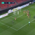 Valenciennes 0-1 Auxerre - Gautier Lloris 23'